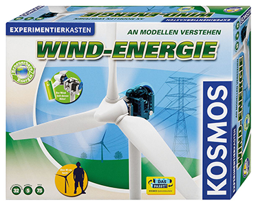 Kosmos Experimentierkasten Wind-Energie