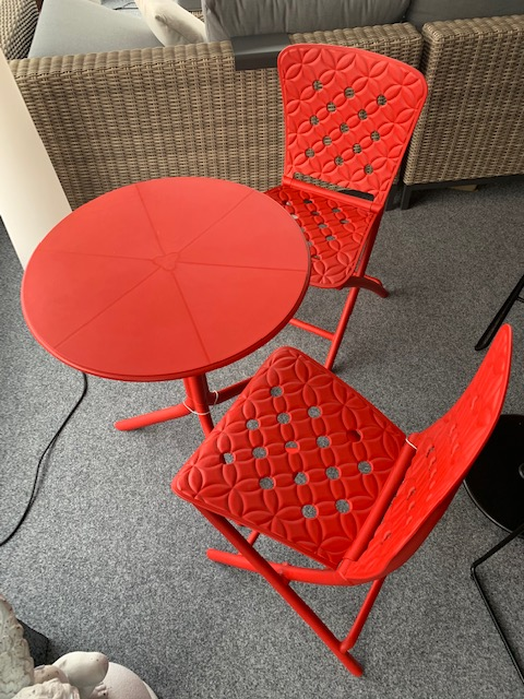Nardi Bistrotisch Spritz und Stuhl Zac